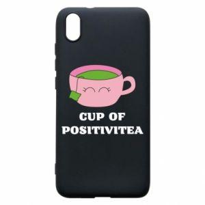 Phone case for Xiaomi Redmi 7A Cup of positivitea - PrintSalon