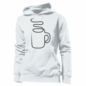 Women's hoodies Cup - PrintSalon