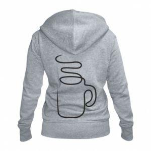 Women's zip up hoodies Cup - PrintSalon
