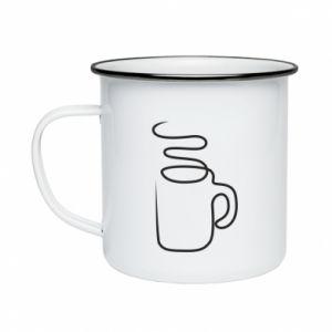 Enameled mug Cup - PrintSalon