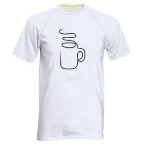 Męska koszulka sportowa Cup