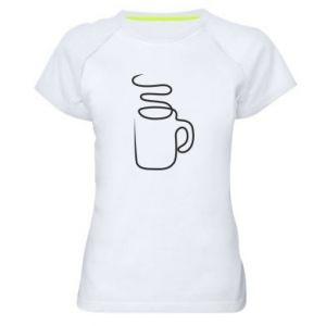 Damska koszulka sportowa Cup