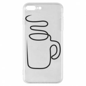 Phone case for iPhone 8 Plus Cup - PrintSalon