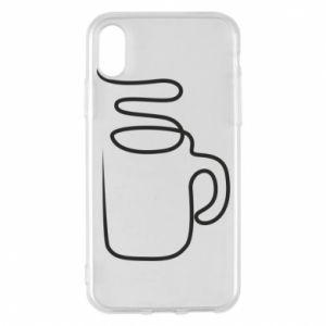 Etui na iPhone X/Xs Cup