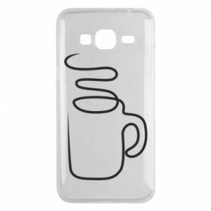 Phone case for Samsung J3 2016 Cup - PrintSalon