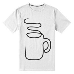 Men's premium t-shirt Cup - PrintSalon