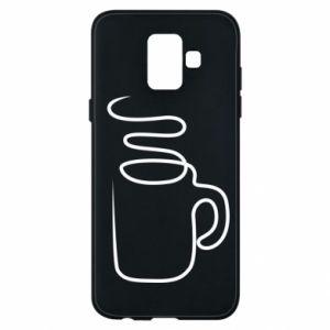 Phone case for Samsung A6 2018 Cup - PrintSalon