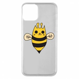 Phone case for iPhone 11 Cute bee smile - PrintSalon