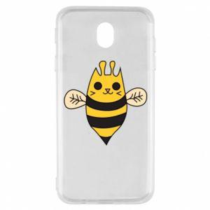 Etui na Samsung J7 2017 Cute bee smile