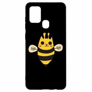Etui na Samsung A21s Cute bee smile