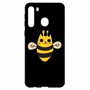 Etui na Samsung A21 Cute bee smile