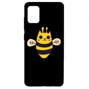 Etui na Samsung A51 Cute bee smile