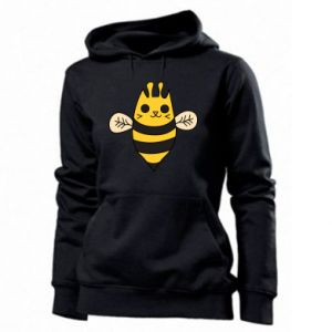 Women's hoodies Cute bee smile - PrintSalon