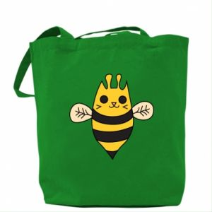 Bag Cute bee smile - PrintSalon