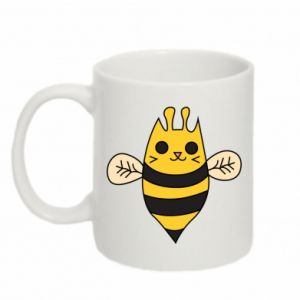 Mug 330ml Cute bee smile - PrintSalon
