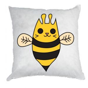 Pillow Cute bee smile - PrintSalon