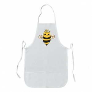 Apron Cute bee smile - PrintSalon