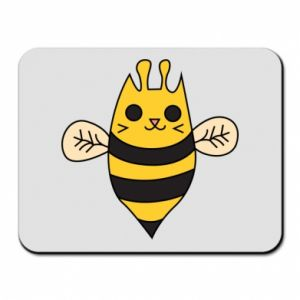Mouse pad Cute bee smile - PrintSalon