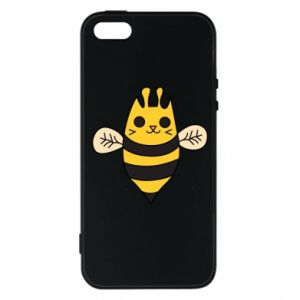 Phone case for iPhone 5/5S/SE Cute bee smile - PrintSalon