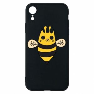 Phone case for iPhone XR Cute bee smile - PrintSalon