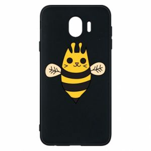 Phone case for Samsung J4 Cute bee smile - PrintSalon