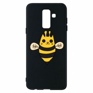 Phone case for Samsung A6+ 2018 Cute bee smile - PrintSalon