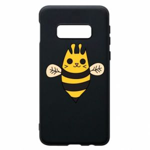 Phone case for Samsung S10e Cute bee smile - PrintSalon