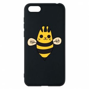 Phone case for Huawei Y5 2018 Cute bee smile - PrintSalon