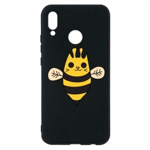 Phone case for Huawei P20 Lite Cute bee smile - PrintSalon