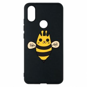 Phone case for Xiaomi Mi A2 Cute bee smile - PrintSalon