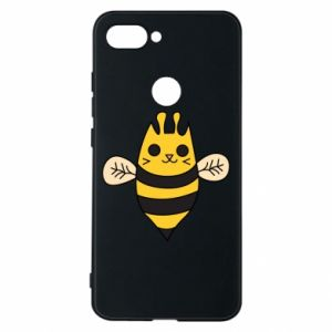 Phone case for Xiaomi Mi8 Lite Cute bee smile - PrintSalon