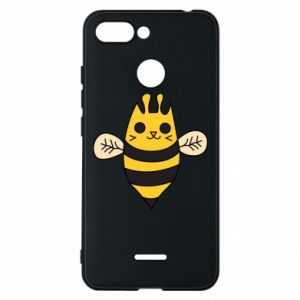 Phone case for Xiaomi Redmi 6 Cute bee smile - PrintSalon