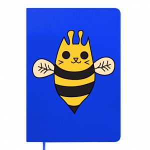 Notepad Cute bee smile - PrintSalon