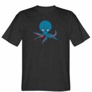 Koszulka Cute blue octopus with a smile