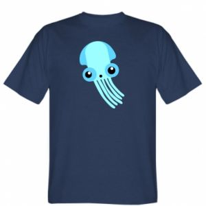 Koszulka męska Cute blue jellyfish