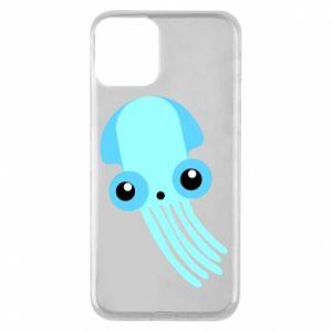 Etui na iPhone 11 Cute blue jellyfish