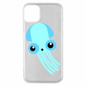 Etui na iPhone 11 Pro Cute blue jellyfish