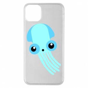 Etui na iPhone 11 Pro Max Cute blue jellyfish