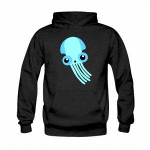 Bluza z kapturem dziecięca Cute blue jellyfish