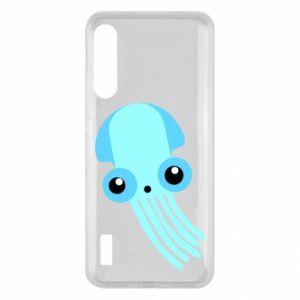 Etui na Xiaomi Mi A3 Cute blue jellyfish