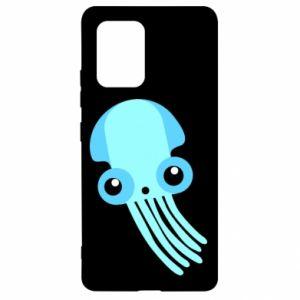 Etui na Samsung S10 Lite Cute blue jellyfish