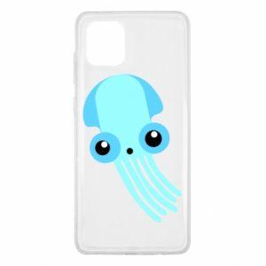 Etui na Samsung Note 10 Lite Cute blue jellyfish