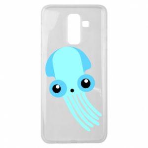 Etui na Samsung J8 2018 Cute blue jellyfish