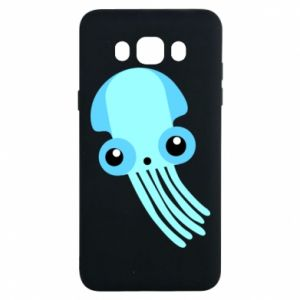 Etui na Samsung J7 2016 Cute blue jellyfish