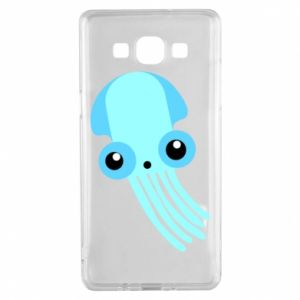 Etui na Samsung A5 2015 Cute blue jellyfish