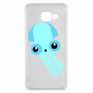 Etui na Samsung A3 2016 Cute blue jellyfish