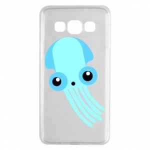 Etui na Samsung A3 2015 Cute blue jellyfish