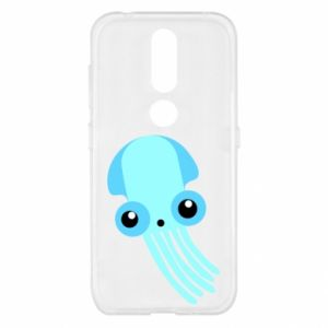 Etui na Nokia 4.2 Cute blue jellyfish