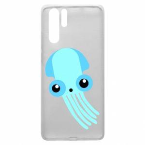 Etui na Huawei P30 Pro Cute blue jellyfish