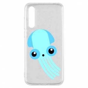 Etui na Huawei P20 Pro Cute blue jellyfish